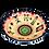 Thumbnail: Pru Green Handmade Pottery - Large Colourful Deep Bowl