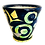 Thumbnail: Pru Green Pottery - Handmade Mug Large