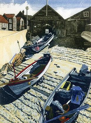 Jan Dingle - Slipway Sherringham Fishing Boats