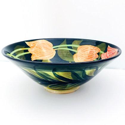 Pru Green -  Medium 19 cm Tulip Bowl