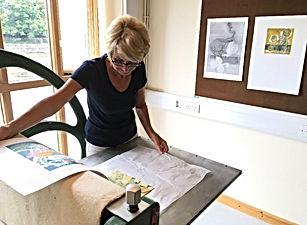 Sue Jones Printmaker Church Street Galle