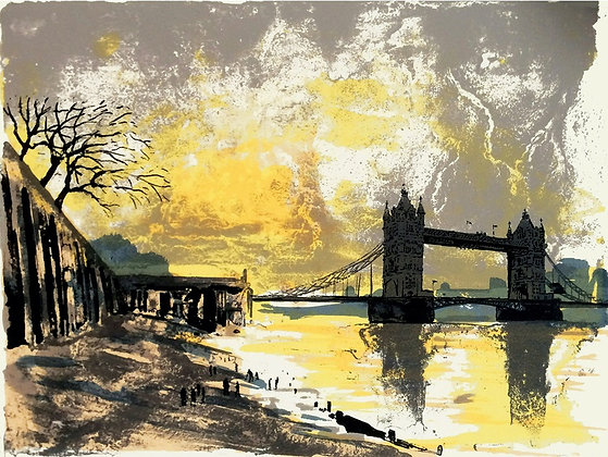 Tim Southall - Mudlarkers - Art Angels Blank Card