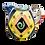 Thumbnail: Pru Green - Colourful Decorative Heart Jug