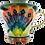 Thumbnail: Pru Green Mug - Large Shell and Fish Design