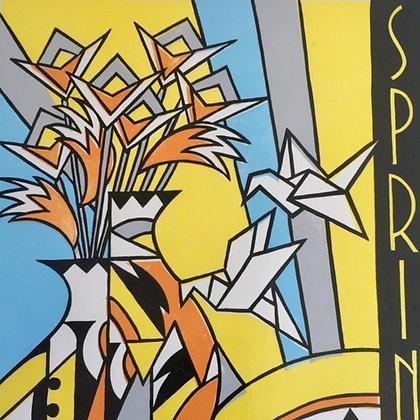 Jenny Portlock - Spring - Linocut