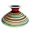 Thumbnail: Pru Green Pottery - Colourful Bowl on Stand