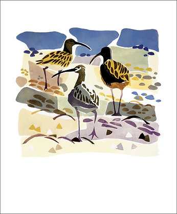 On The Beach - Lisa Hooper - Art Angels Printmakers Cards