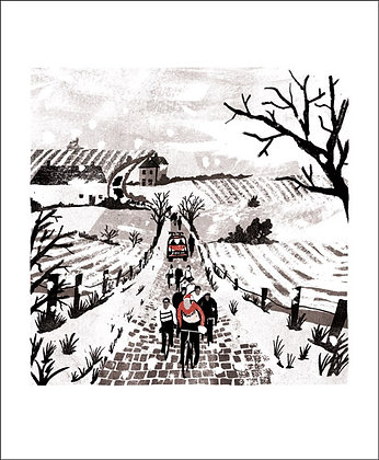 Cycle Race - Printmakers Cards