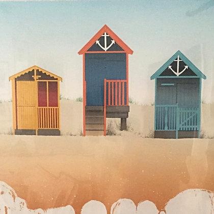 Beach Huts - Michael Papworth