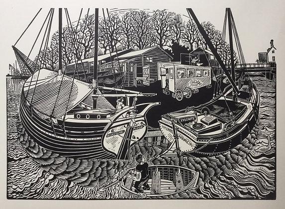 James Dodds - Winter Refit, Fullbridge Maldon