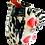 Thumbnail: Simon Sharp Pottery -  Abstract Decorated Small Tall Jug
