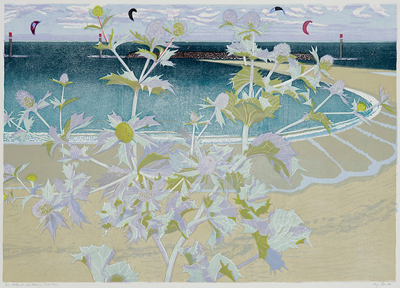 Ivy Smith - Sea Holly at Sea Palling