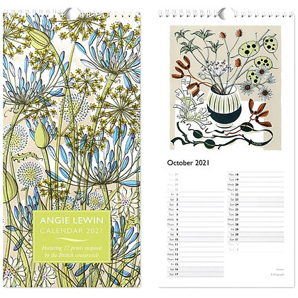 Angie Lewin 2021 Calendar - In Stock