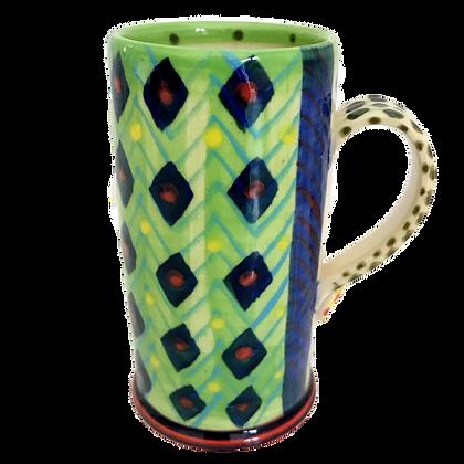Pru Green - Espresso Cups - Colourful Handmade Ceramics