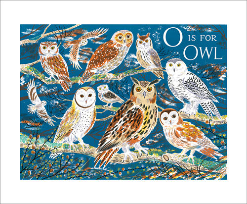 Owl - Emily Sutton - Art Angels Printmakers Cards