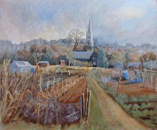Sue Walker - Church View Saffron Walden