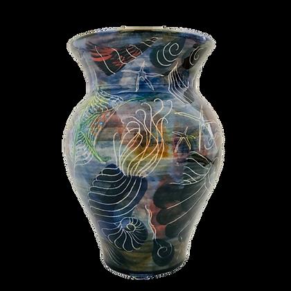 Pru Green Vase - Devine Vase Hand thrown and Unique