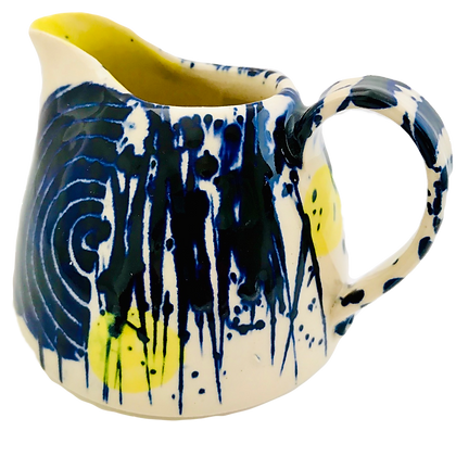 Simon Sharp Pottery - Abstract Bold Small Can Jug