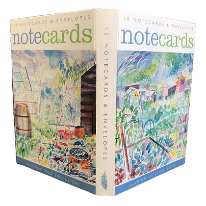 Emily Sutton - Allotment - Notecards - Stationery from Art Angels