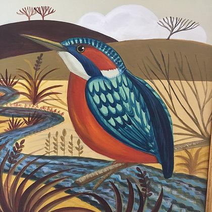 Catriona Hall - Kingfisher