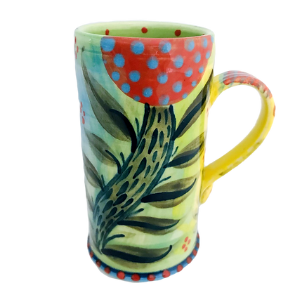 Pru Green Pottery - Espresso Cups - Colourful Handmade Ceramics