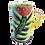 Thumbnail: Pru Green Pottery - Espresso Cups - Colourful Handmade Ceramics