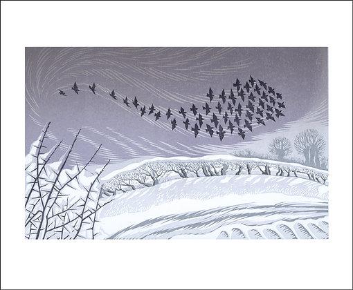 Niki Bowers-Winter Printmakers Cards-Art Angels