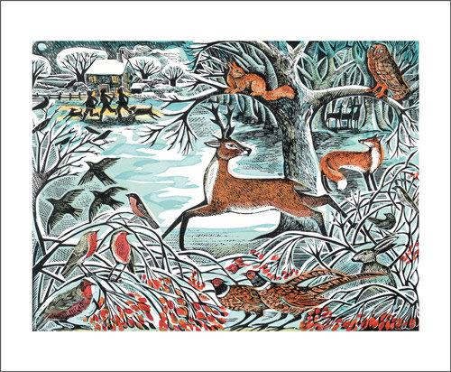 Angela Harding - Winter Wonderland Card by Art Angels