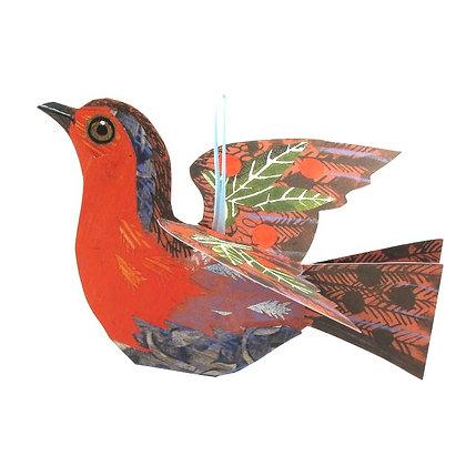 Mark Hearld - Flying Robin Greetings Card