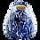 Thumbnail: Pru Green Pottery - Small Jug Batik Floral Design