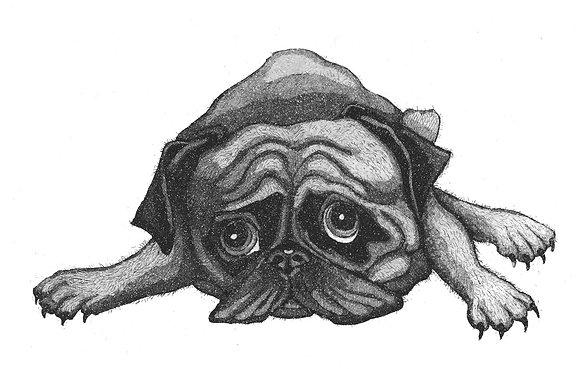 Alison Read - Pug Rug