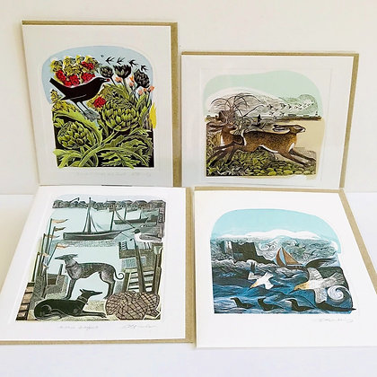 Angela Harding - 4 Designs Card Collection by Art Angels