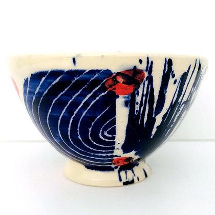Simon Sharp -  Decorated Deep Small Bowl
