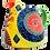 Thumbnail: Pru Green Pottery - Colourful Decorative Small Jug