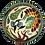 Thumbnail: Pru Green Deep Decorated Bowl - Shell Design