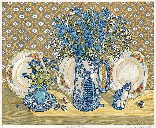 The Blue Cat Jug - Vanessa Lubach