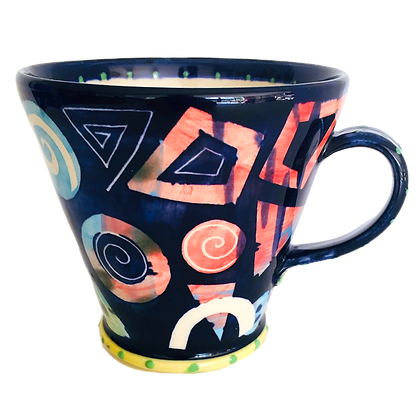 Pru Green Pottery - Handmade Mug Large