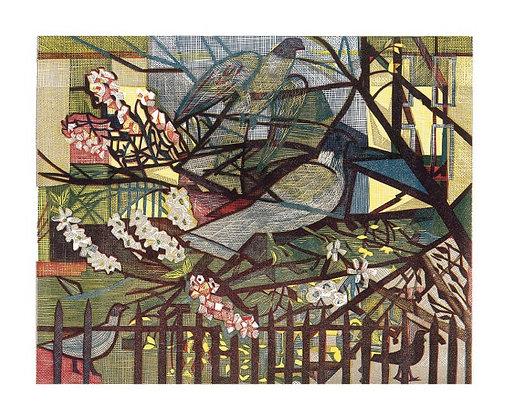 Pigeons - Rupert Shepherd - Art Angels Printmakers Cards