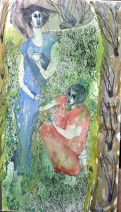Anne Lynch - In my Garden