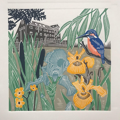 Kate Heiss - Kingfisher At The Mill