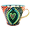 Thumbnail: Pru Green Pottery - Large Bright Colourful Mug