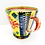 Thumbnail: Bright Colourful and Unique Mug by Potter Pru Green