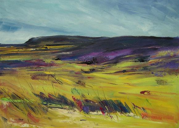 Debbie Scott - Dales Landscape - Oil on Canvas