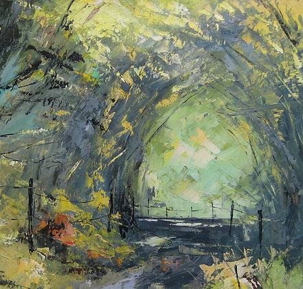 Debbie Scott - Leafy Lane - Original Painting