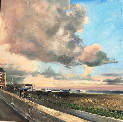 Geri Jones Painting - Aldeburgh