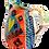 Thumbnail: Pru Green - Colourful Small Can Heart Design Jug