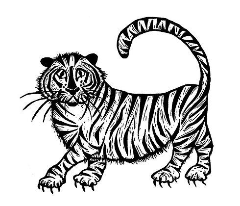 Alison Read - Grrr Tiger