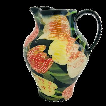 Pru Green - Classic Large Jug Tulip Design