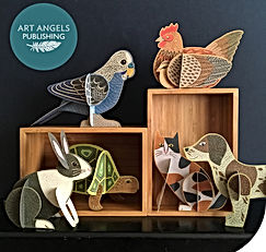 Art Angels-Pop Out Pets- New at Church S