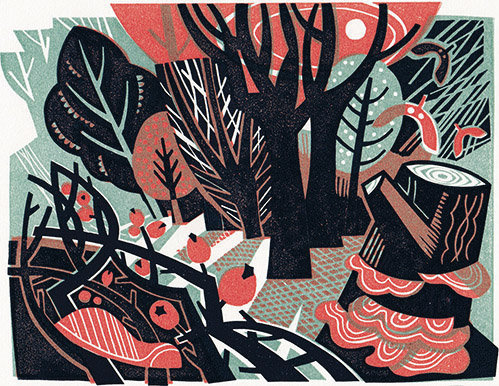 Clare Curtis  - Woodland